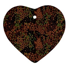 Digital Camouflage Ornament (heart)