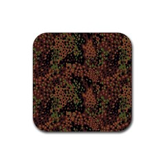 Digital Camouflage Rubber Coaster (square)