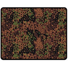 Digital Camouflage Double Sided Fleece Blanket (medium)  by BangZart