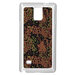 Digital Camouflage Samsung Galaxy Note 4 Case (white) by BangZart