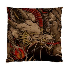 Chinese Dragon Standard Cushion Case (one Side)