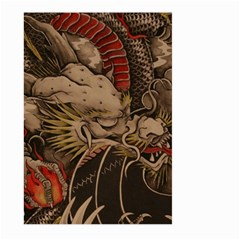 Chinese Dragon Large Garden Flag (two Sides) by BangZart
