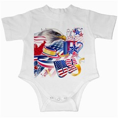 United States Of America Usa  Images Independence Day Infant Creepers