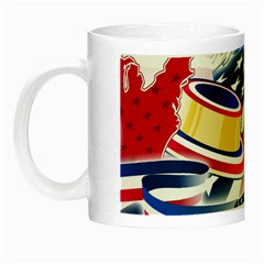 United States Of America Usa  Images Independence Day Night Luminous Mugs by BangZart