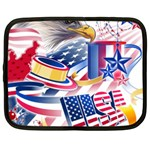 United States Of America Usa  Images Independence Day Netbook Case (XXL)  Front