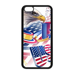 United States Of America Usa  Images Independence Day Apple Iphone 5c Seamless Case (black) by BangZart