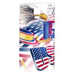United States Of America Usa  Images Independence Day Galaxy Note 4 Back Case by BangZart