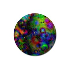 Full Colors Magnet 3  (round) by BangZart