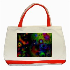Full Colors Classic Tote Bag (red) by BangZart