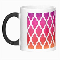 Colorful Rainbow Moroccan Pattern Morph Mugs