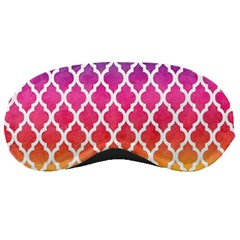 Colorful Rainbow Moroccan Pattern Sleeping Masks by BangZart