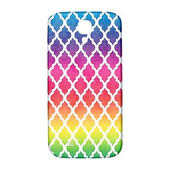 Colorful Rainbow Moroccan Pattern Samsung Galaxy S4 I9500/i9505  Hardshell Back Case
