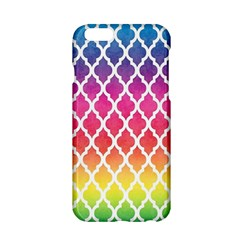 Colorful Rainbow Moroccan Pattern Apple Iphone 6/6s Hardshell Case by BangZart