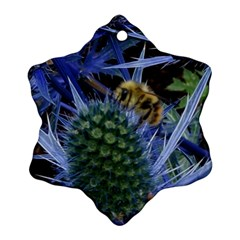 Chihuly Garden Bumble Ornament (snowflake) by BangZart