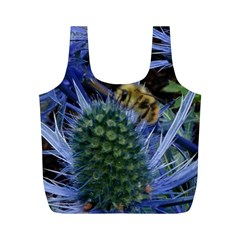 Chihuly Garden Bumble Full Print Recycle Bags (m)