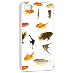 Goldfish Apple Iphone 4/4s Seamless Case (white)