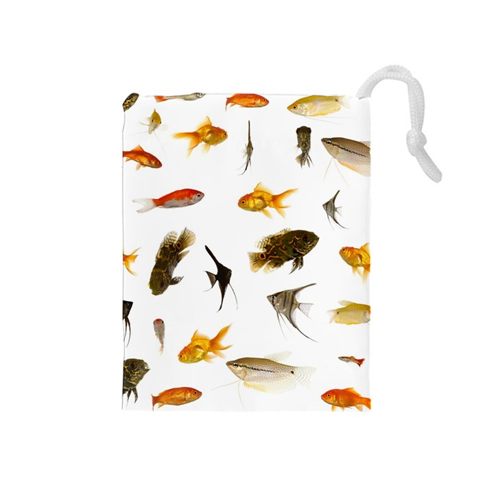 Goldfish Drawstring Pouches (Medium)