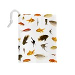 Goldfish Drawstring Pouches (Medium)  Back