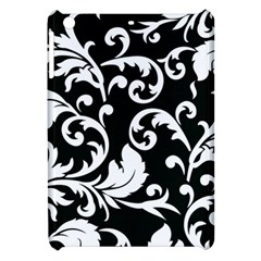 Vector Classicaltr Aditional Black And White Floral Patterns Apple Ipad Mini Hardshell Case