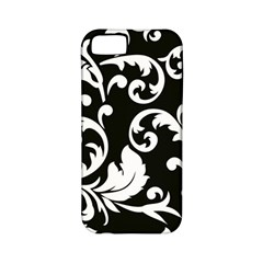 Vector Classicaltr Aditional Black And White Floral Patterns Apple Iphone 5 Classic Hardshell Case (pc+silicone) by BangZart