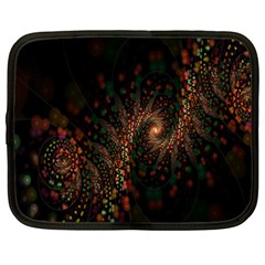 Multicolor Fractals Digital Art Design Netbook Case (xxl)