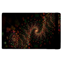 Multicolor Fractals Digital Art Design Apple Ipad 3/4 Flip Case