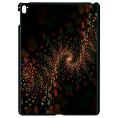 Multicolor Fractals Digital Art Design Apple Ipad Pro 9 7   Black Seamless Case