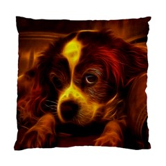Cute 3d Dog Standard Cushion Case (two Sides) by BangZart