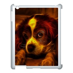 Cute 3d Dog Apple Ipad 3/4 Case (white) by BangZart