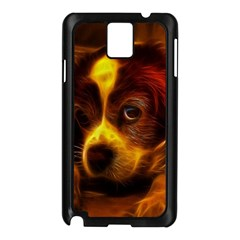 Cute 3d Dog Samsung Galaxy Note 3 N9005 Case (black)