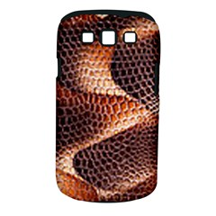 Snake Python Skin Pattern Samsung Galaxy S Iii Classic Hardshell Case (pc+silicone)
