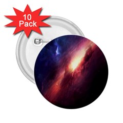 Digital Space Universe 2 25  Buttons (10 Pack)  by BangZart