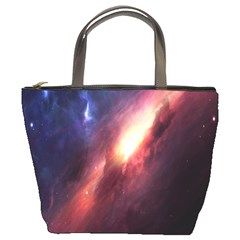 Digital Space Universe Bucket Bags by BangZart