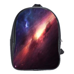 Digital Space Universe School Bags(large)