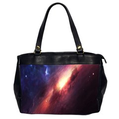 Digital Space Universe Office Handbags (2 Sides)  by BangZart