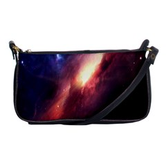 Digital Space Universe Shoulder Clutch Bags by BangZart