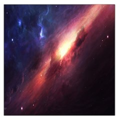 Digital Space Universe Large Satin Scarf (square) by BangZart
