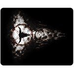 DREAMCATCHER Double Sided Fleece Blanket (Medium)  58.8 x47.4  Blanket Back