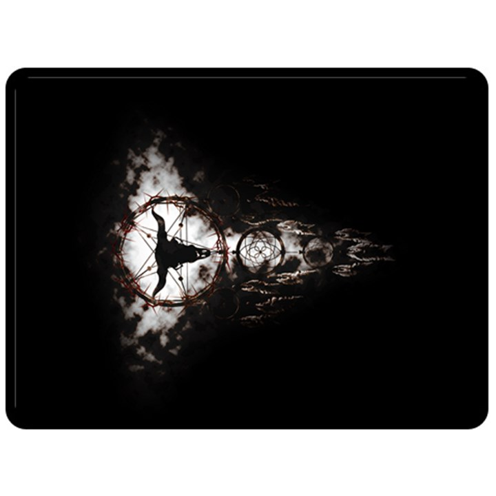 DREAMCATCHER Double Sided Fleece Blanket (Large)