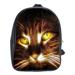 Cat Face School Bags(large)  by BangZart