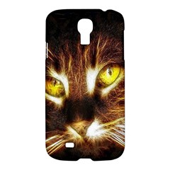 Cat Face Samsung Galaxy S4 I9500/i9505 Hardshell Case