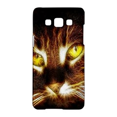 Cat Face Samsung Galaxy A5 Hardshell Case