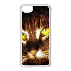 Cat Face Apple Iphone 7 Seamless Case (white)