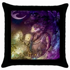 Cartoons Video Games Multicolor Throw Pillow Case (black) by BangZart