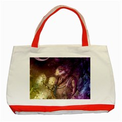 Cartoons Video Games Multicolor Classic Tote Bag (red) by BangZart
