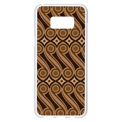 Batik The Traditional Fabric Samsung Galaxy S8 Plus White Seamless Case by BangZart
