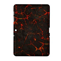 Volcanic Textures Samsung Galaxy Tab 2 (10 1 ) P5100 Hardshell Case  by BangZart