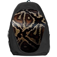 Snake Skin Olay Backpack Bag