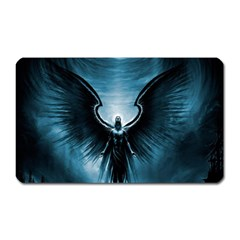 Rising Angel Fantasy Magnet (rectangular)
