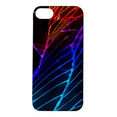 Cracked Out Broken Glass Apple Iphone 5s/ Se Hardshell Case by BangZart